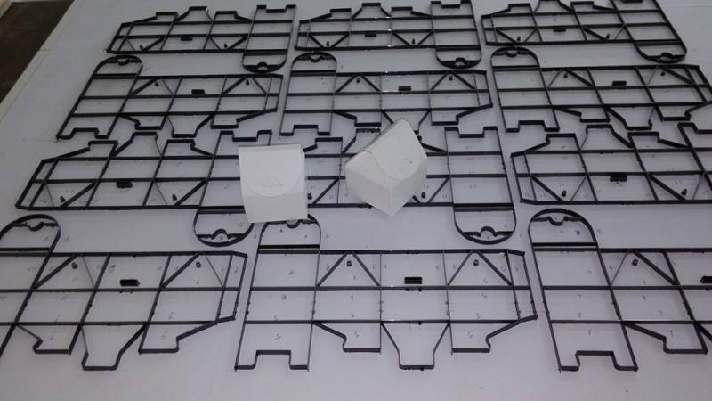 Facas para maquinas de corte e vinco